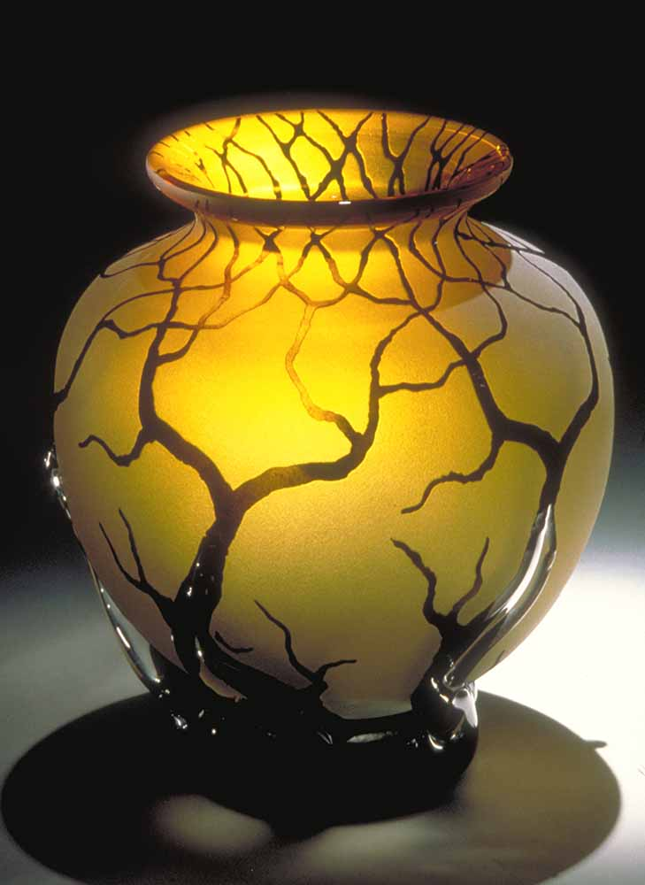 Gold Topaz Bellied Root Vessel
