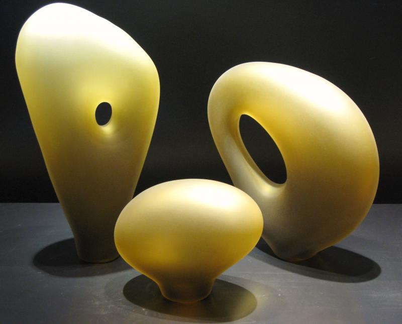 Yellow Melange Sculpture