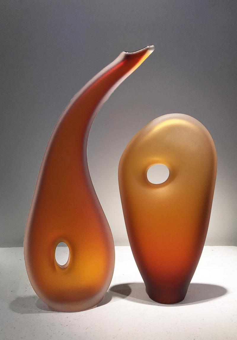 Auora Monolito Glass Sculptures